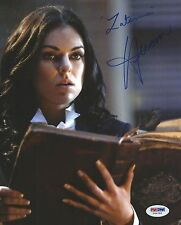 Serinda Swan Signed 8x10 Photo PSA/DNA COA Zatanna Smallville Autograph Picture