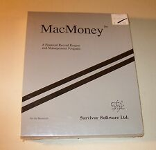 MacMoney for Macintosh 512, XL, Plus, SE, II - NEW