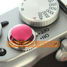 Claret Metal Soft Release Button for Leica Contax Fujifilm X100 size:S