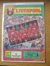 24/10/1984 Liverpool v Benfica [European Cup] (folded, creased, pin holes, sligh