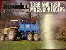 Bonhill Fortschritt to066 e to88 Muck DIFFUSORI BROCHURE / DEPLIANT Flyer Flyer