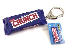 American Candy 3D LED Light Torch Keychain  Mini Flashlight Crunch Chocolate Bar
