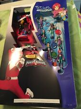 Power Rangers & W.I.T.C.HMcDonald's Happy Meal Toys Display From Restaurant 2005