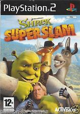 SHREK SUPERSLAM for Playstation 2  PS2 - with box and manual - PAL