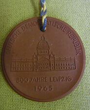 Meissen DDR Medaille - 800 Jahre Leipzig - 1965 - Nr. 2