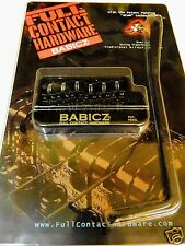 BABICZ FULL CONTACT HARDWARE FCHSTRATBK 6 POINT STRAT TREMOLO BLACK