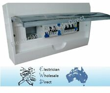Switchboard Combination for UNIT 18 pole Surface/ Flush, RCD MCB Loaded