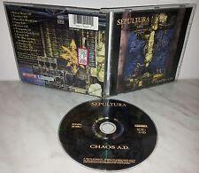 CD SEPULTURA - CHAOS A.D.