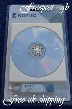 SUPERB CD - DVD & BLURAY WET OR DRY LENS / LASER CLEANER / CLEANING DISC + FLUID