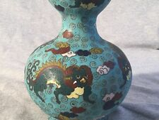 A Chinese Cloisonné Gourd Vase