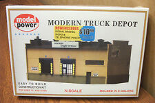 MODEL POWER N SCALE BUILDING KIT MODERN TRUCK DEPOT