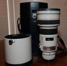 Bargain Canon EF 300mm F/2.8 L USM  AF 300/2.8 Lens. very sharp wide open