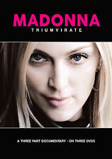 MADONNA New Sealed 2016 COMPLETE HISTORY & BIOGRAPHY 3 DVD BOXSET