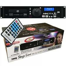 IMG STAGE LINE CD-196USB Professional MP3 Lettore CD + unità USB Supporto & remoto
