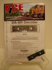 NCE #106 DA-SR HO DCC Decoder for Atlas, Kato and Athearn HO engines NEW