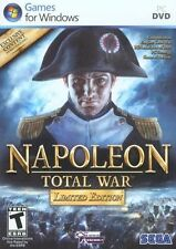 Napoleon: Total War -- Limited Edition (PC, 2010) Video Game Windows Sega NEW