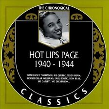 Hot Lips Page - 1940-1944 / Classics Records CD New and sealed
