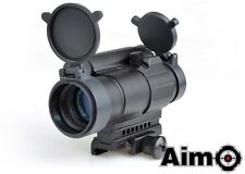 AIM-O M4 Red Dot Black AO 3032 Airsoft Softair Red dot 20mm mount M4 Comp