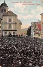 Trogen Switzerland Town Meeting Antique Postcard J55538