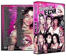 Women of ECW 7 DVD-R Set, Dawn Marie Sunny Beulah Missy Hyatt WWE WWF  Kimona