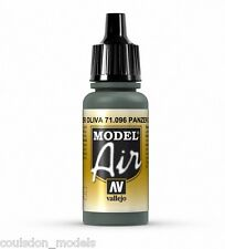 Vallejo Model Air Olive Grey 71.096 - 17ml Acrylic Airbrush Ready Paint