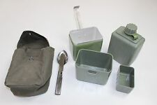YUGOSLAVIA YUGOSLAVIAN ARMY CAMPING COOK SET WATER BOTTLE & CUTLERY