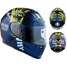 AGV GP-Tech Full Face Motorcycle Helmet Mugello Hands Rossi XLarge XL Limited