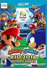 Mario & Sonic at the Rio 2016 Olympic Games (Nintendo Wii U, 2016) - COMPLETE