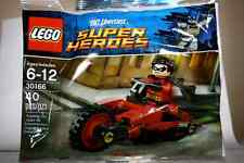LEGO DC Superheroes Batman - Robin and Redbird Cycle 30166 - New & Sealed