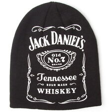 NEW OFFICIAL Jack Daniel's JD Old No 7 Classic Trademark Label Beanie Hat