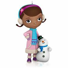 Doc and Chilly 2015 Hallmark Ornament  Disney Doc McStuffins  Cartoon  Snowman