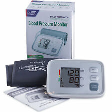 full Automatic digital Blood Pressure Monitor Machine Heart Rate meter BP cuff
