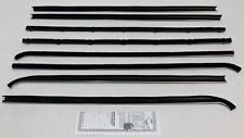 1968-1970 PLYMOUTH 'B' BODY COUPE WINDOW BELTLINE WEATHERSTRIP KIT (8 PIECES)