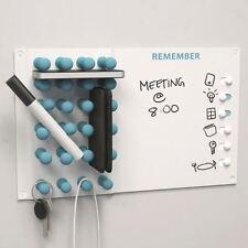 Wipe Clean Metal White Memo Board Personal Day Week Planner Organiser Wall Fixed