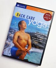 NEW DVD BACK CARE YOGA Rodney Yee Gaiam Exercise Tension Release Strength