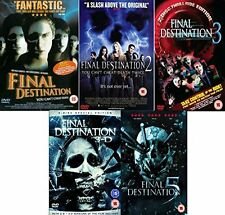 Final Destination 1-5 DVD All 5 Movies Film Collection Part 1 2 3 4 5 New Sealed