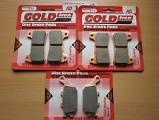HONDA CBR1000 RR5 FIREBLADE 2005   FULL SET FRONT & REAR BRAKE PADS   GOLDFREN
