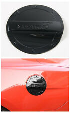 Black Fuel Filler Cover Gas Tank Cap cover trim for Ford mustang 2015-2017