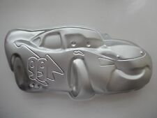 Large Giant Steve McQeen Lightning Sports Car Shape Cake Pan Fondant Baking
