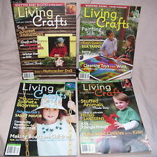 Living Crafts Magazine 2011 Winter Spring Summer Fall Lot 4 Quilting Roving Sew
