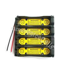 4 pcs 1S4P 18650 3.7V Holder Case Battery Li-Ion PCM Protection Circuit Module