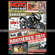MOTO JOURNAL N°1923 HONDA VFR 1200 YAMAHA FJR 1300 AS SUZUKI RG 500 BURGMAN 650