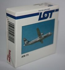 Herpa Wings-Polish Airlines-LOT-ATR-72-Maßstab/Scale1:500-Sammlung-Modell#508001
