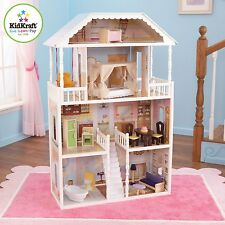 NEW Awsome And Sturdy Savannah Dollhouse With Furniture For Kids By KidKraft