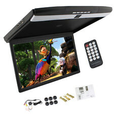 "17.3"" LCD HDMI Car Ceiling Overhead Flip Down Roof Mount Monitor FM/SD/USB/1080P"