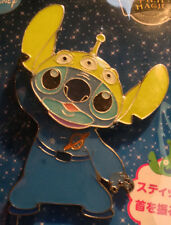 Disney Japan Stitch with Toy Story Little Green Men Hat Pin
