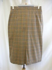 """Ladies Skirt - M&S, size 12/40, 26""""W, hips 37"""", 26""""L, pure wool, honey mix 8007"""