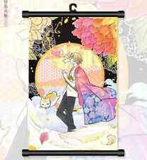 Japan Anime Natsume Yuujinchou Cosplay Home Decor Japan Wall Poster Scroll 02