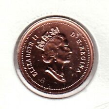 E103 CANADA 1c ONE CENT COIN 1999 BRILLIANT UNCIRCULATED $15.00 - BUY IT NOW