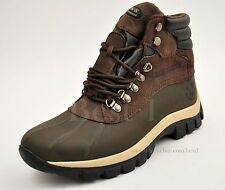 Kingshow Men's Genuine Leather Winter Snow Work Boots Shoes Waterproof 0705